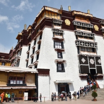 Entrance: Potala Palace